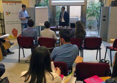 La Responsabilità sociale dell'impresa, seminario tenutosi a Palermo (PA) - Progetto Social FarmingSicilia